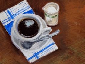 "Coffee and Cream (9"" x 11"")"