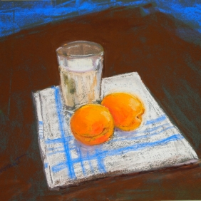 "Milk and Apricots (11"" x 14"")"