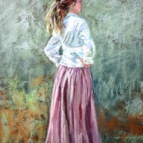 """Prairie Girl (10.5"""" x 14"""")"""
