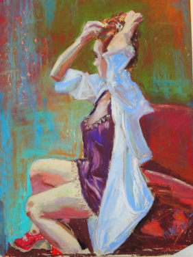 """Red Shoes (14.5"""" x 17.5"""")"""