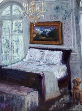 """Upper Eastside Bedroom (10"""" x 14"""")"""